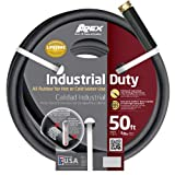 Apex, 8650-50, Commercial All Rubber Hot and Cold Water Hose, 5/8-Inch-by-50-Foot