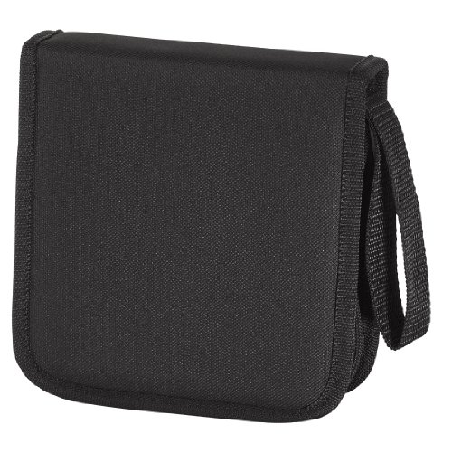 Hama CD nylon tas 16 zwart
