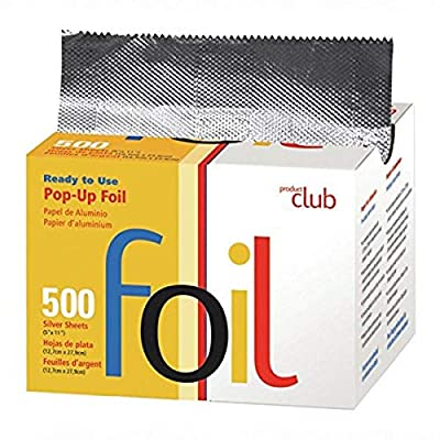 Product Club Ready to Use Foil Sheets, Silver, 5 x 11 Inch, 500 Count
