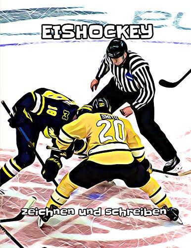 Eishockey: zeichnen und schreiben