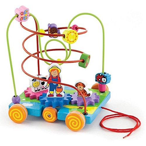 NEW CLASSIC Toys motricité Jouet Farm à tracer Viga Toys