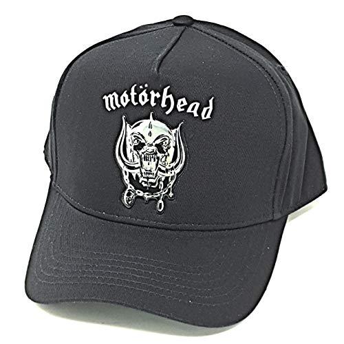 Motorhead Baseballcap Sonic Silver Warpig schwarz