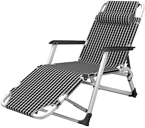 Patio Lounge Chairs Recliner Sun Lounger Reclining Chair Folding Chair Office Relax Chair Ergonomic Lounge Chair Outdoor Seat Breathable Video Game Chairs (Color : 2)