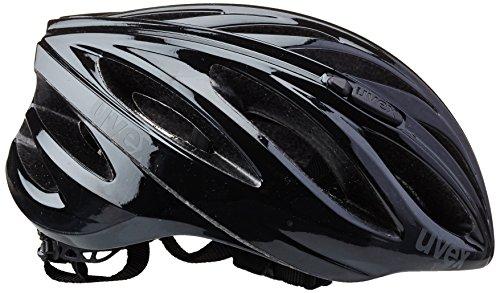 uvex Unisex– Erwachsene, boss race Fahrradhelm, black, 52-56 cm - 4