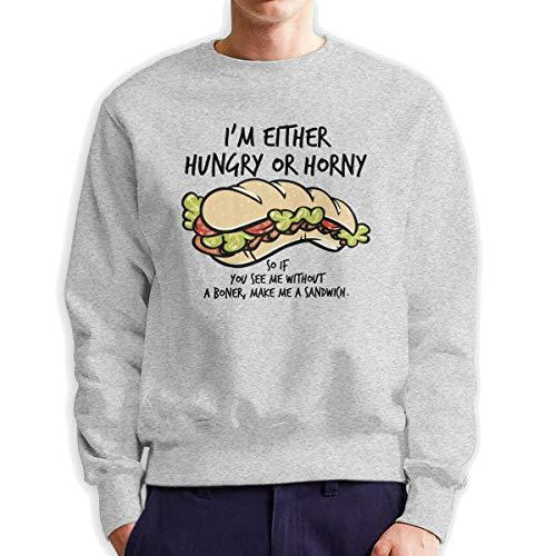 Sunwan Ik heb honger Sandwich Mouw Lange Shirt Top Tops Casual Sweatshirt Blouse Tee Shirts Tees Klassieke Crewneckpatchwork Korte tiener Grote Blouses