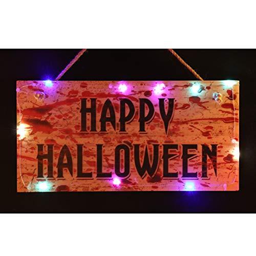 OYEFLY Halloween Gruselige Blutfleckdekoration - mit zum Aufhängen an der Wand, als Dekoration für Tür oder Fenster zu Halloween usw