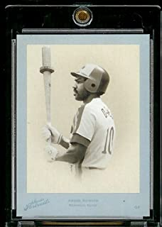 2005 Leaf Certified Materials Studio Portraits Andre Dawson Serial #22/25 Montreal Expos Baseball Card - Mint Condition