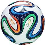 adidas Fußball Brazuca Top Replique, White/Night Blue/Multicolor, 5