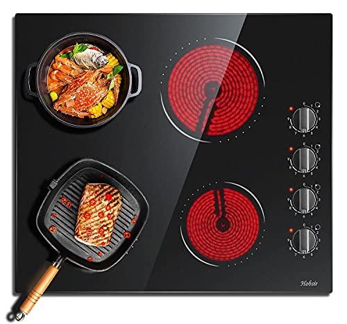 Plaque Vitrocéramique 6000W, plaque de cuisson...