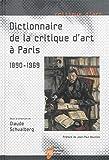 Dictionnaire de la critique d'art à Paris (1890-1969)