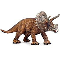 恐竜のおもちゃのトリケラトプス口を開けてジュラシックの世界おもちゃの大きい静的なプラスチック恐竜モデルのための男の子のシミュレーションギフト