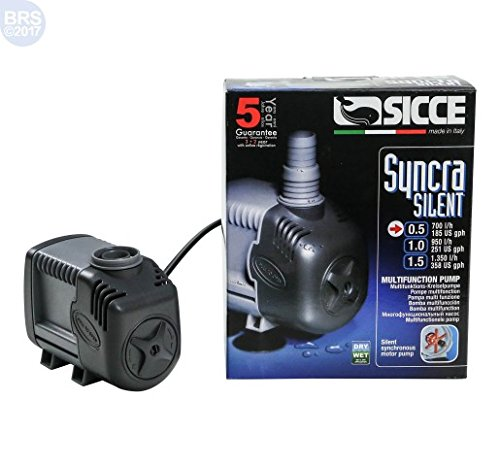 Sicce 995877 Aquarien Universalpumpe Syncra 0.5 700 Liter/h 8 Watt