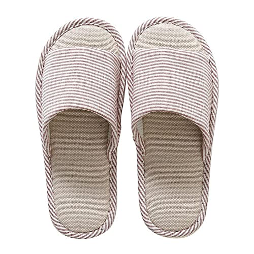 Men's and Ladies' Cotton Slippers Winter Indoor Home Slippers Men's and Women's Home Garden Home Supplies Slippers L B