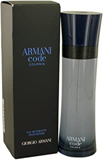 Giorgio Armani Code Colonia Pour Homme 125ml4.2oz Eau De Toilette Spray for Men