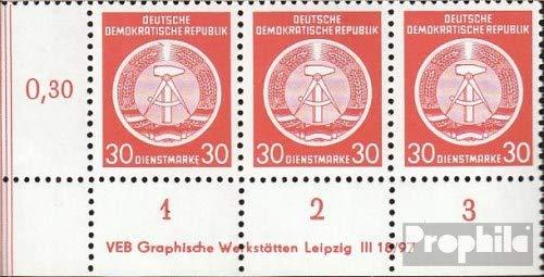 Prophila Collection DDR DA11DV mit Druckvermerk 1954 Dienstmarke (Briefmarken für Sammler)
