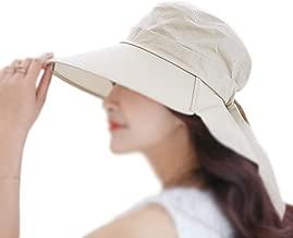 Deporte al Aire Libre Senderismo Visera Sombrero Protecci/ón UV Cara Cuello Cubierta Pesca Gorra de protecci/ón Solar Mujeres NUOCAI Gorra de Sol Sombrero de Pesca para Hombres