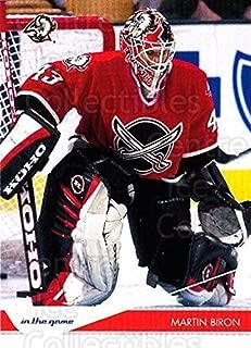 (CI) Martin Biron Hockey Card 2003-04 Toronto Star (base) 9 Martin Biron