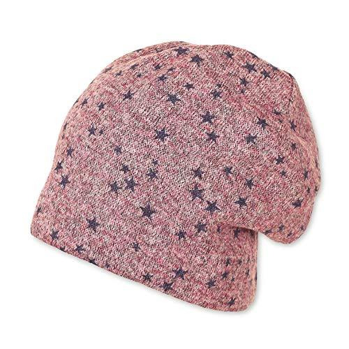 Sterntaler Mädchen Slouch-Beanie Mütze, Violett (Helllila 650), 45