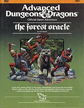 N2 The Forest Oracle - Book  of the Advanced Dungeons and Dragons Module #C4