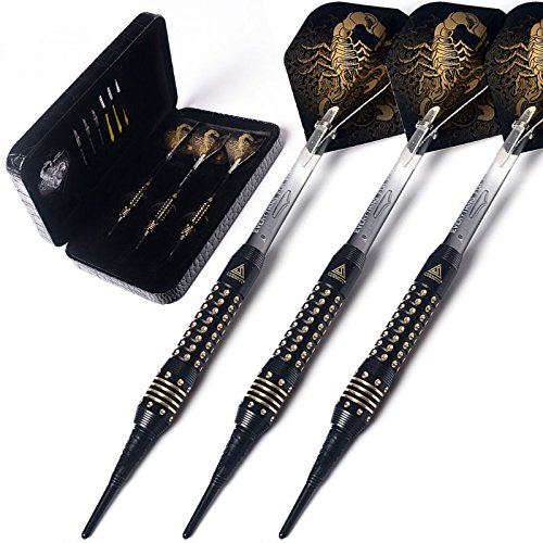 CUESOUL Black Scorpion Deluxe Softdarts - Design 2