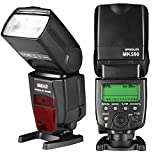 Meike MK580 E-TTL Master Speedlite Flash for Canon EOS 70D 80D Rebel T7i T6i T6 T5i T5 T4i T3i and Other EOS DSLR...