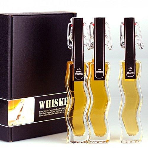 Geschenkset / Probierset Whisky / Whiskey Set. Die Geschenkidee für Whisky / Whiskey-Liebhaber, in Geschenkbox
