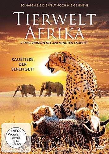Tierwelt Afrika - Raubtiere der Serengeti [2 DVDs]