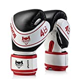 iFkoo 4oz 6oz Kids Boxing Gloves, Training Gloves for Children, Suit for Kickboxing, Muay Thai, Child Punching Bag Sparring Training, Age 3 to 13 Years
