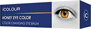 iCOLOUR Color Changing Eye Balm - Change Your Eye Color Naturally - 1 Month Supply - 4.3 g (Honey)