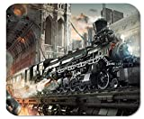 Steampunk Railroad Train Mouse Mat Pad Mousepad 18x22 cm