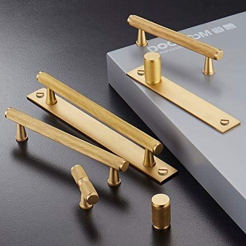 YBDZ Laiton Meubles poignée striée Or Noir Moderne Armoire Commode Cabinet Armoire à tiroirs Pull Rod Knurled (Color : BC A3) Gp B4