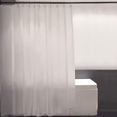 Ebecede Plastic Shower Curtain Liner 70 x 72, C...