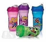 Nuby Ultra Cup - Vaso anti-derrame isolado, 270 ml, 1...