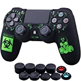 YoRHa Laser Carving Silicone Cover Skin Case for Sony PS4/slim/Pro Dualshock 4...