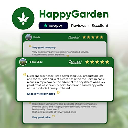 Product Image 7: Happy Garden New Hemp Biscuit Treats For Dogs – Reducing Anxiety & Aggressive Behaviour – Result of Storms, Fireworks & Abandonment 200mg