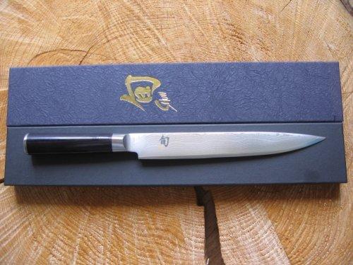 KAI Shun DM-0704 - Cuchillo jamonero (22,5 cm)