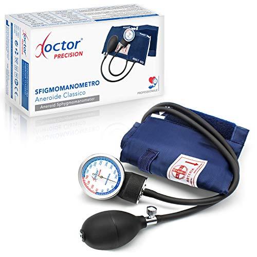 AIESI Sfigmomanometro Manuale Professionale Aneroide modello classico per adulti senza stetoscopio...