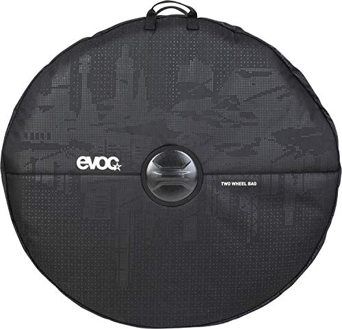 evoc Unisex_Adult TWO WHEEL BAG Bike Travel Accessories, Black, standard size