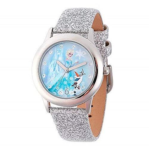 NEW Disney Frozen Wrist Watch Girls Elsa Anna Children Kids Gift Party Christmas