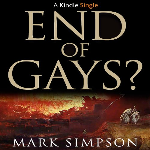 End of Gays? audiobook cover art