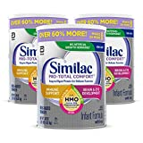 Similac Pro-Total Comfort Non-GMO with 2'-FL HMO Infant Formula with...