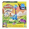 Play-Doh Dino Crew Growin' Tall Bronto Toy Dinosaur for Kids 3 Years and Up with 2 Eggs, 2.5 Ounces Each, Non-Toxic from Hasbro