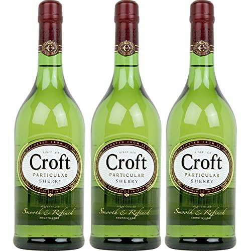 Croft Particular - Vino D.O. Jerez - 3 Botellas de 750 ml - Total: 2250 ml