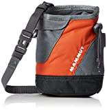 Mammut Ophir Chalk Bag Bolsa de Magnesio de Escalada, Unisex Adulto, Naranja Oscuro/Gris (Titanium), Talla Única