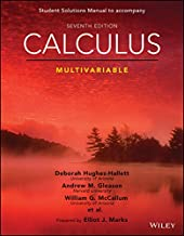 Calculus: Multivariable, Seventh Edition Student Solutions Manual