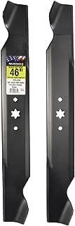 MaxPower 561544 2-Blade Set for 46 Inch Cut MTD/Cub Cadet/Troy-Bilt Replaces 942-04244,..