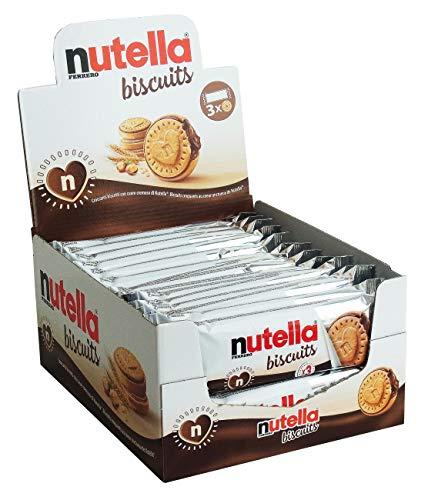 Nutella Biscuits 3er Pack, 30er Thekendisplay (30 x 3er Pack)