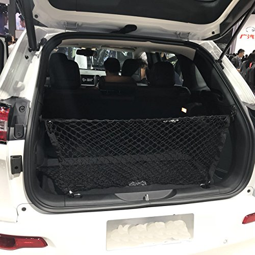 Kaungka Cargo Net Nylon Rear Trunk Compatible for 2014 2015 2016 2017 2018 2019 Jeep Cherokee