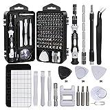 i-Found - Destornillador de precisión 122 en 1 para herramientas de reparación de smartphones, portátiles, portátiles, relojes, joyas, juguetes, gafas, juego de destornilladores magnéticos