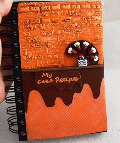 My Cake Recipes Journal Cover - Recipe Book - Cooking Handbook - Culinary Kitchen Notebook - Cookbook - Chef Book